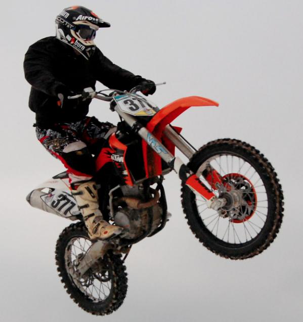 In Russland sehr beliebt: die Motocross-Motorräder des österreichischen Herstellers KTM