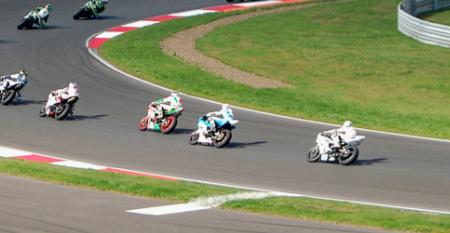 Deutsche Technik für russische Motorsport- und Motorradfans am neuen Moscow Raceway