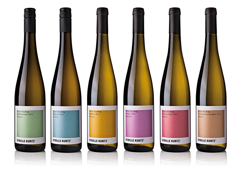 Eines der Unternehmen am deutschen Gemeinschaftsstand auf der WorldFood Moskau 2012: Weingut Sybille Kuntz aus Lieser am Mittellauf der Mosel
