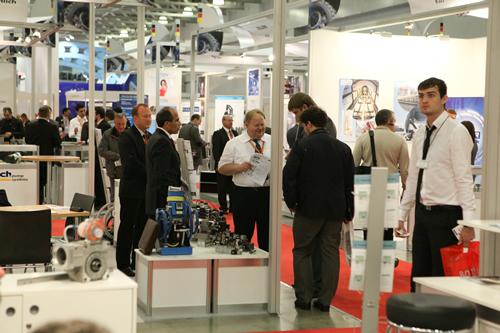 Fachbesucher auf der ITFM - Industrial Trade Fair Moscow