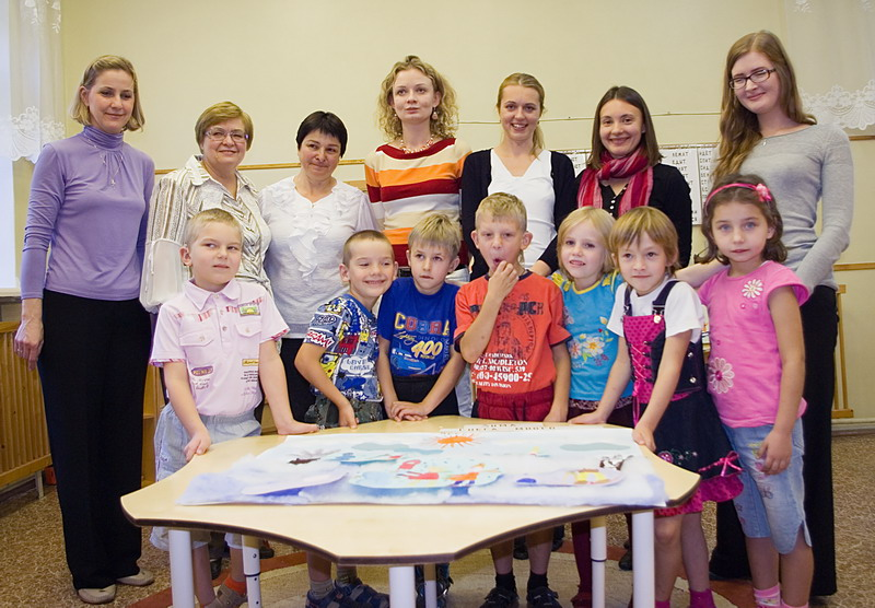 AHK Tag der Offenen Tür für einen guten Zweck – Kinderheim in Kolomna